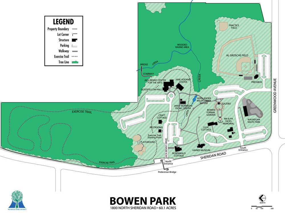 Bowen Park Waukegan Park District