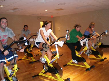 Group Fitness Spin Class