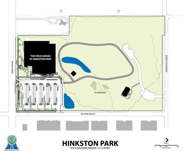Hinkston Park Map