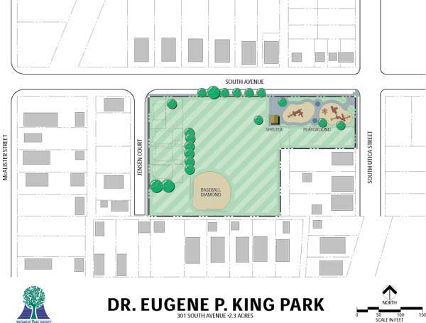 King Park Map