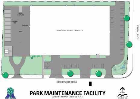 Park Maintenance Facility Map