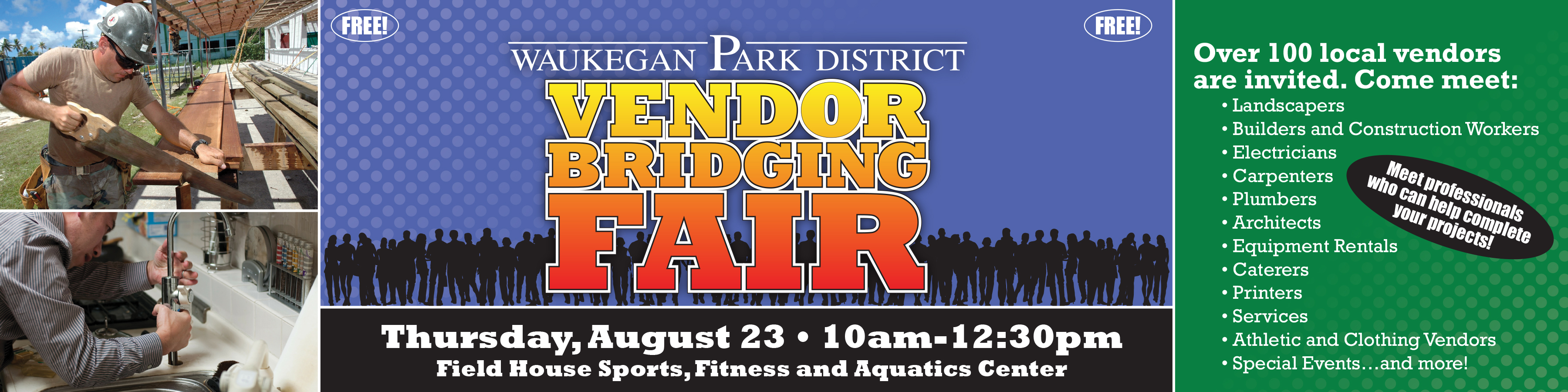Vendor Fair Banners