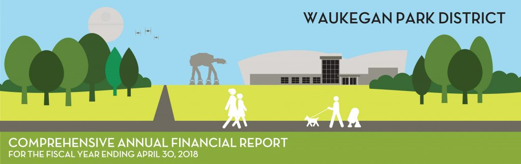 Comprehensive Annual Financial Report for the fiscal year ending April 30, 2018