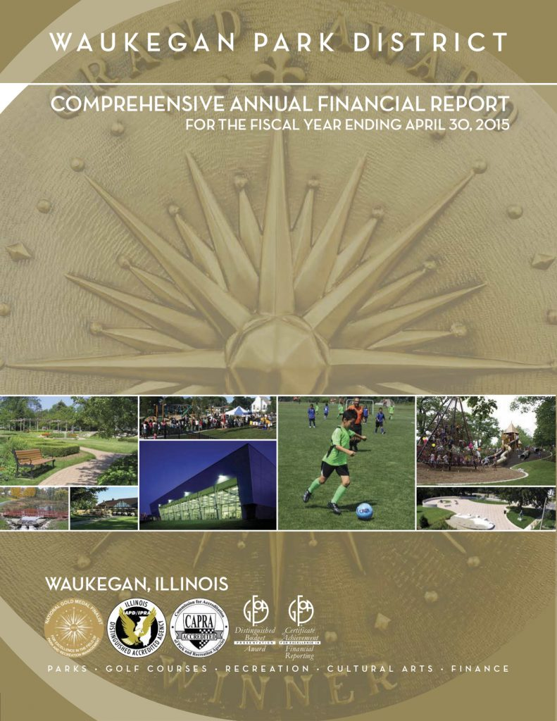 Comprehensive Annual Financial Report for the fiscal year ending April 30, 2015