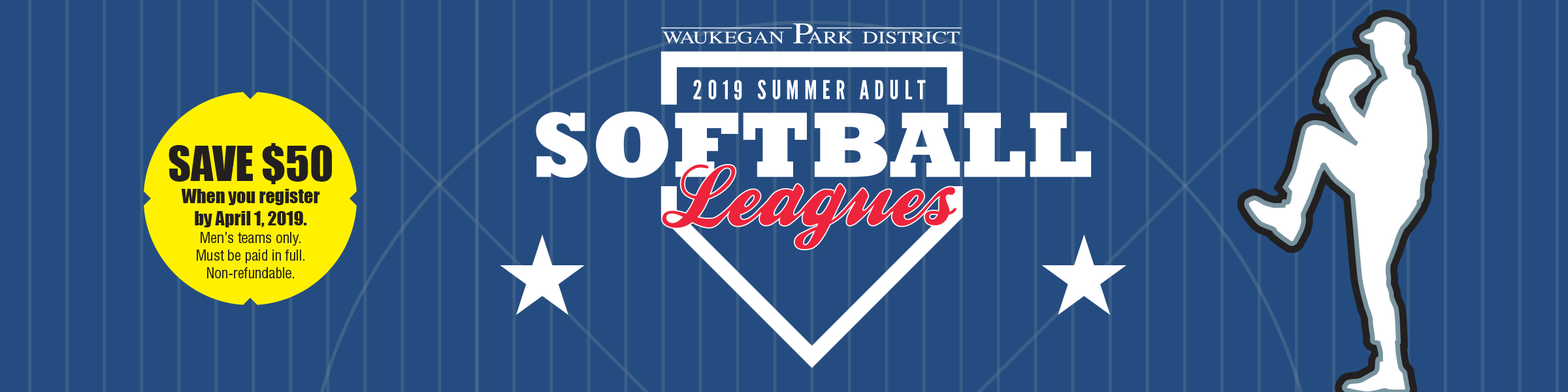 2019 Summer Adult Softball Leagues