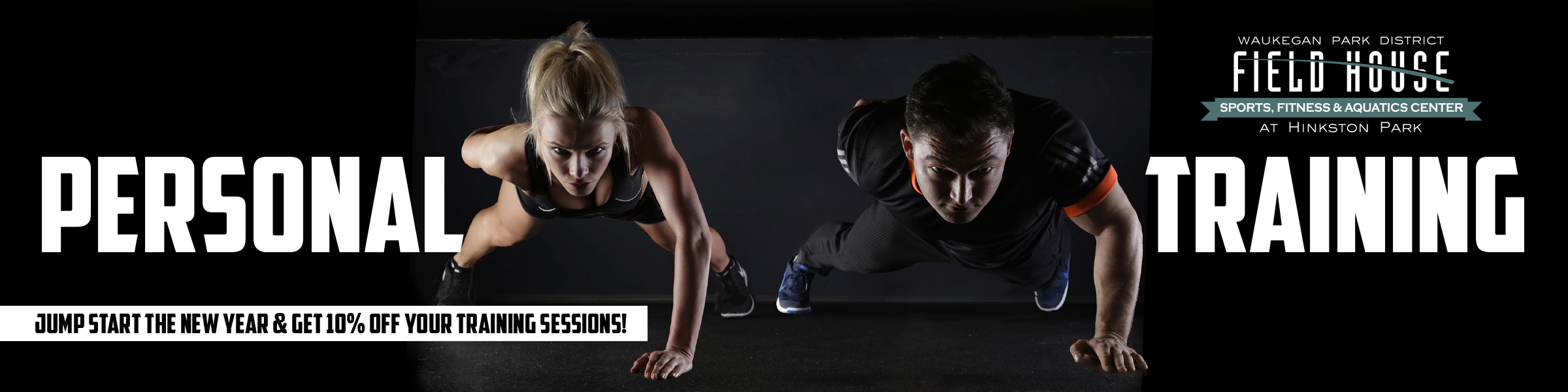 Personal Training Web Banner