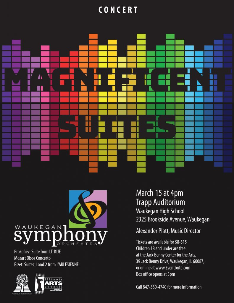 Magnificent Suites Concert Poster