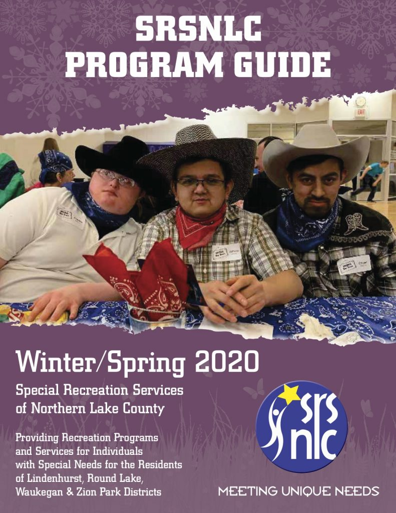 Winter/Spring 2020 SRSNLC Program Guide