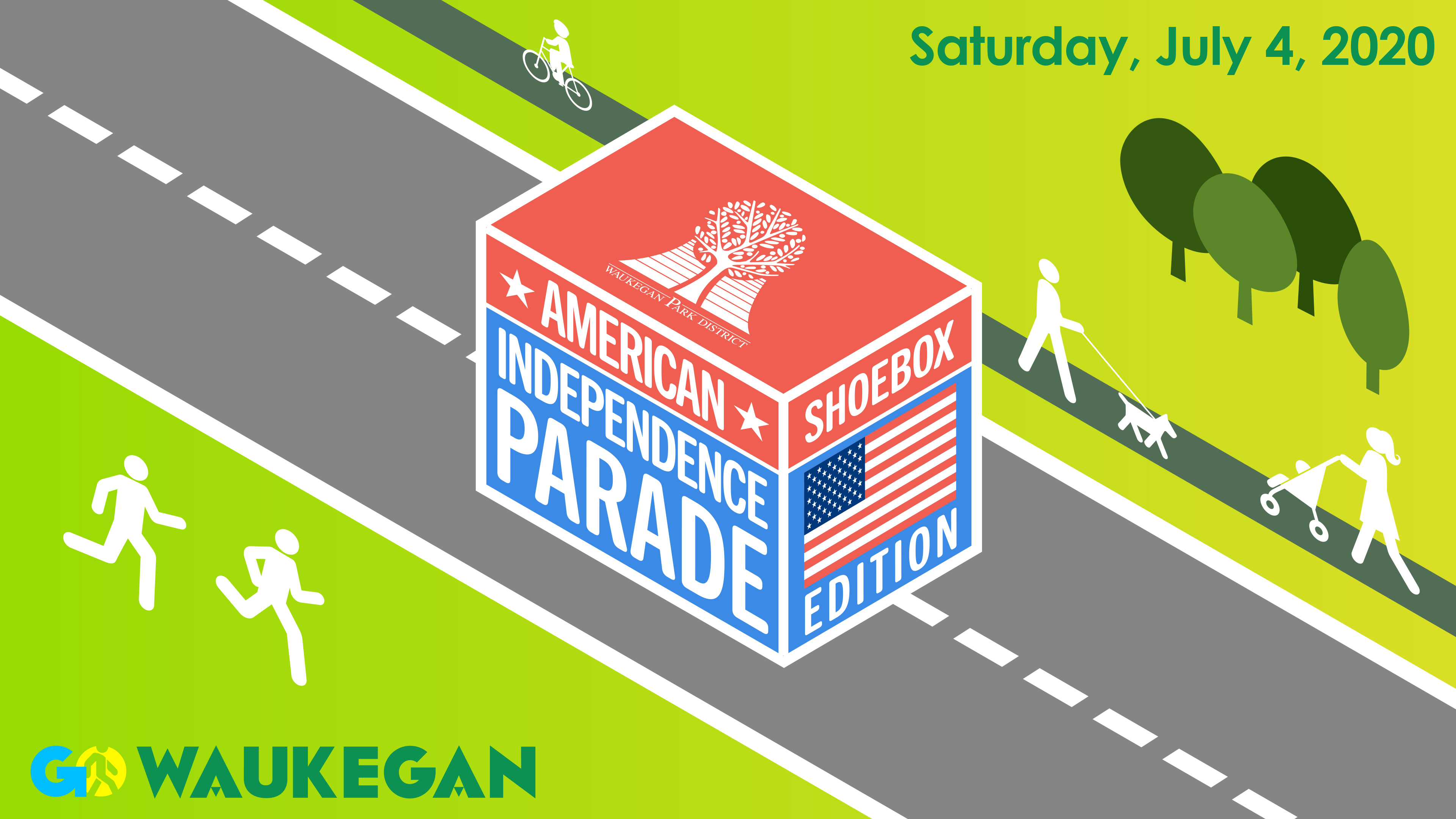 American Independence Parade: Shoebox Edition