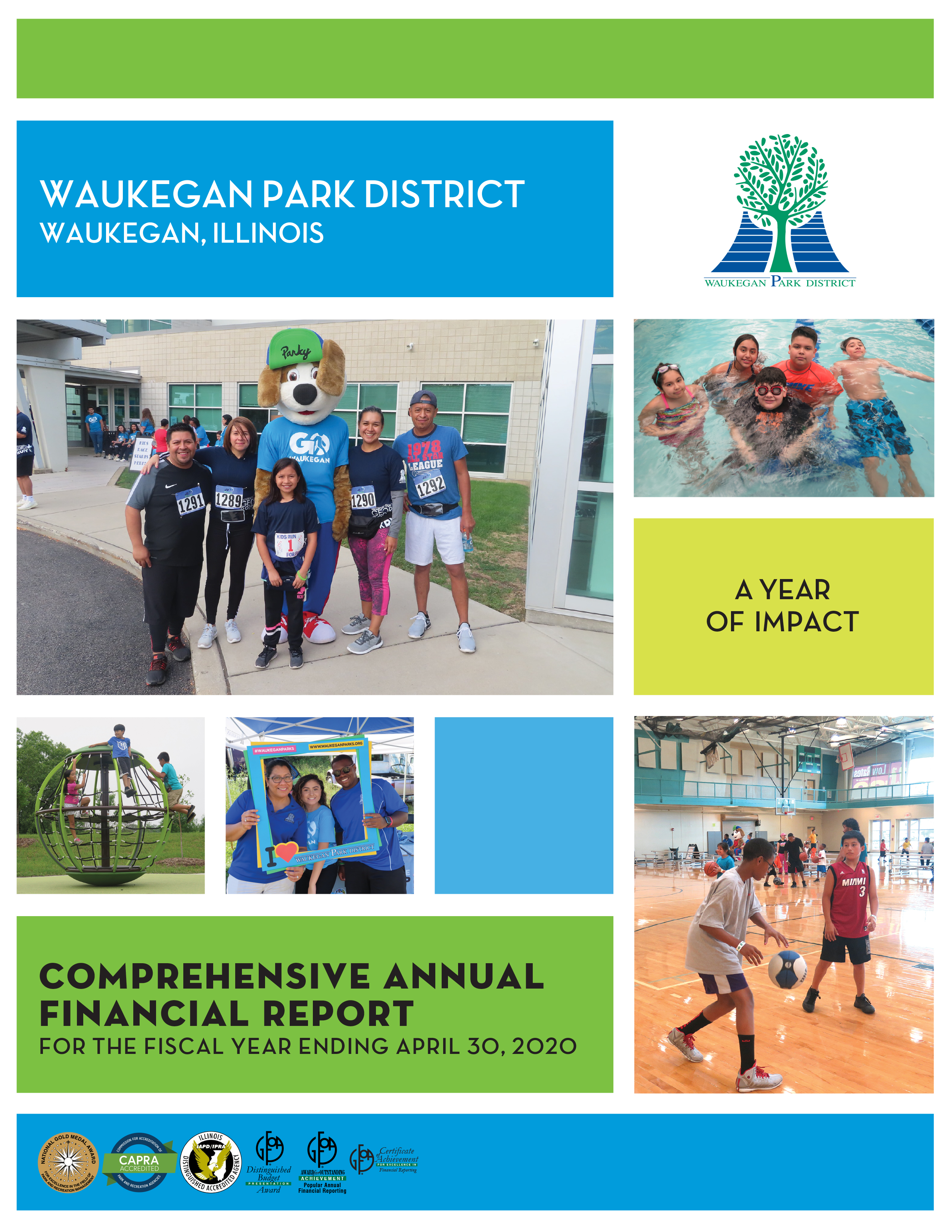 2019-2020 Comprehensive Annual Financial Report Cover