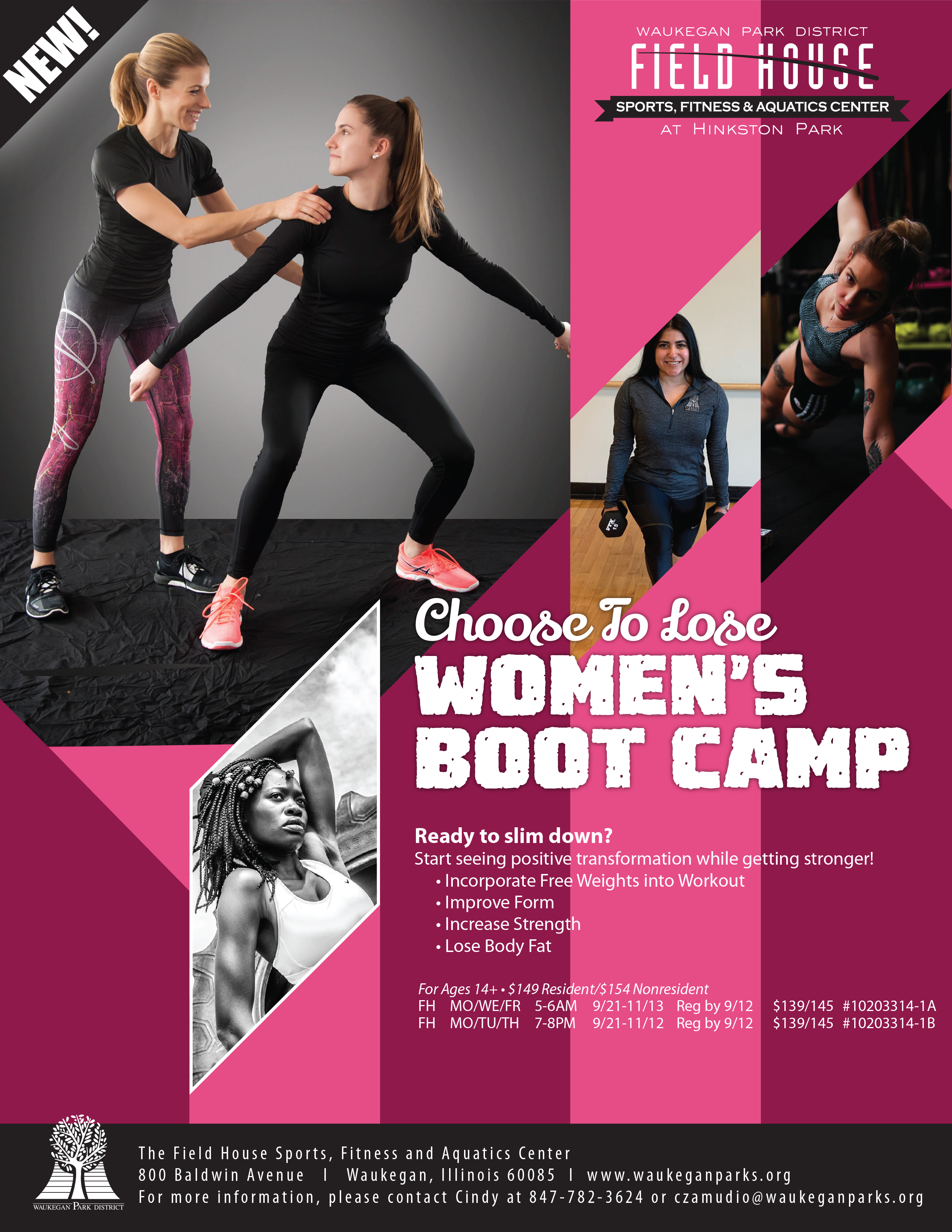 Choose to Lose Women's Boot Camp
