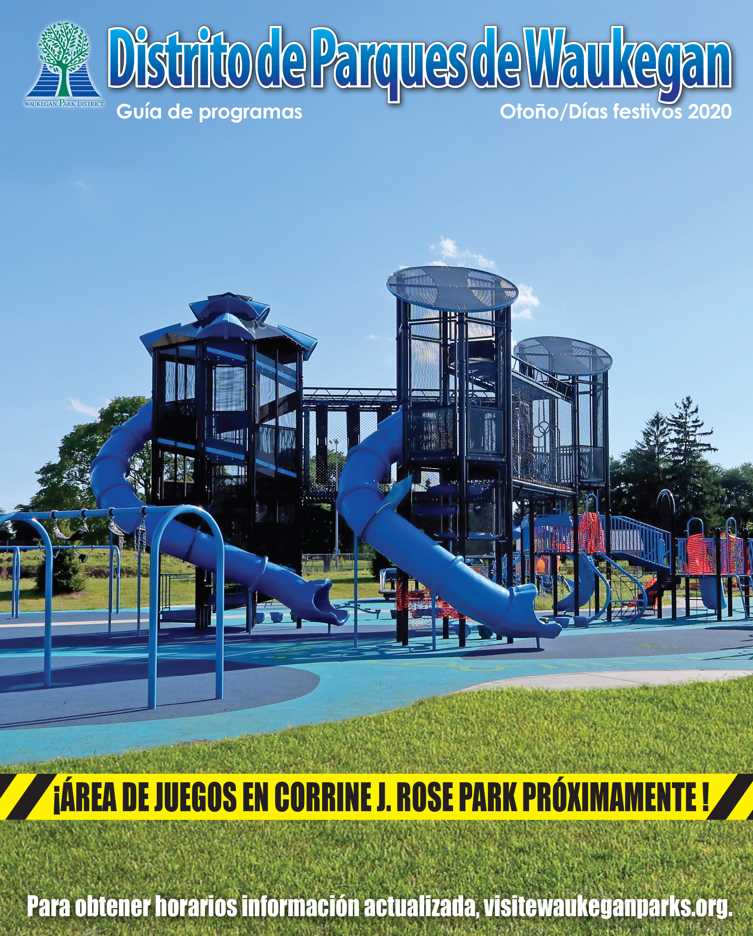 Fall/Holiday 2020 Program Guide Cover (Spanish)