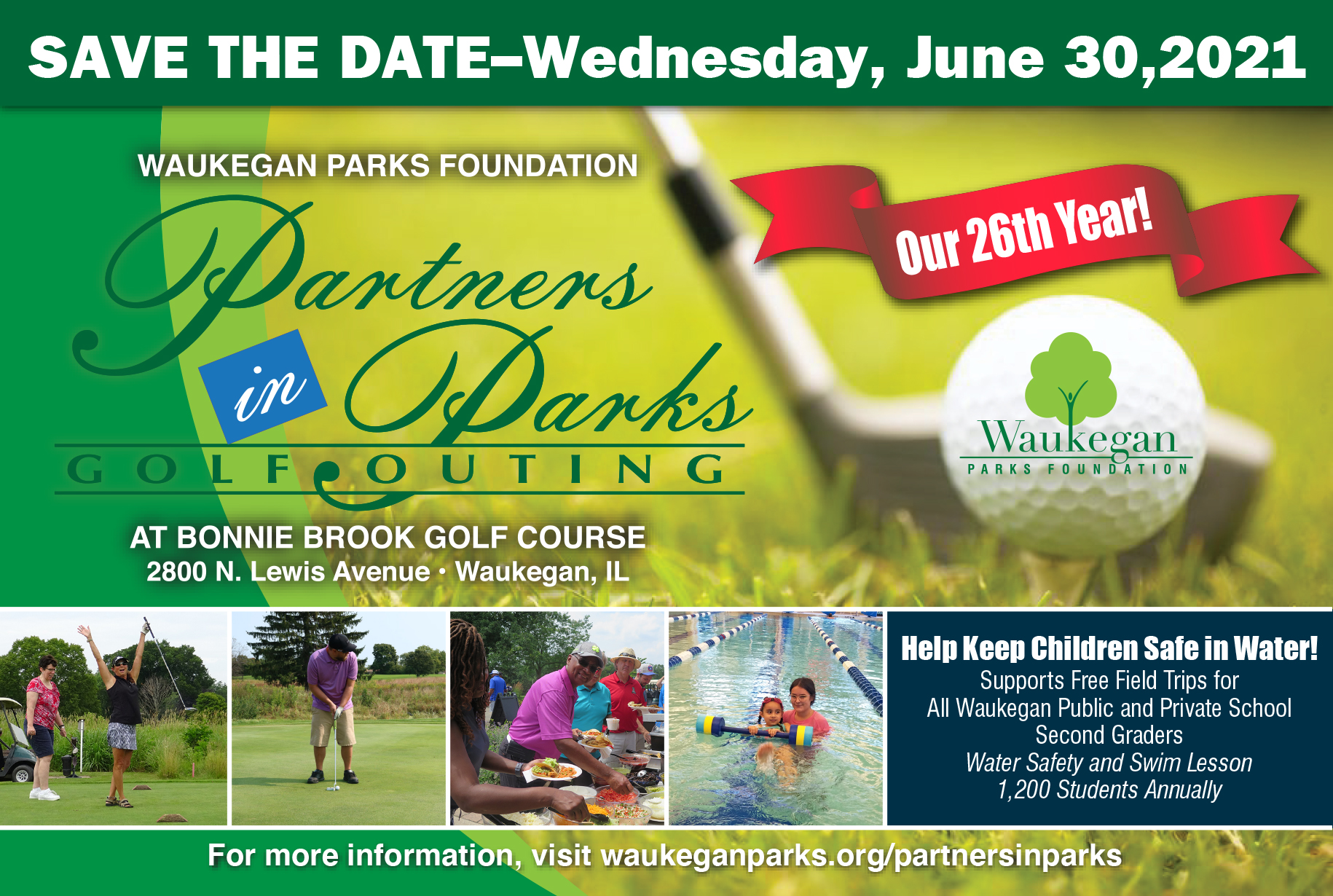 2021 Partners in Parks Golf Outing