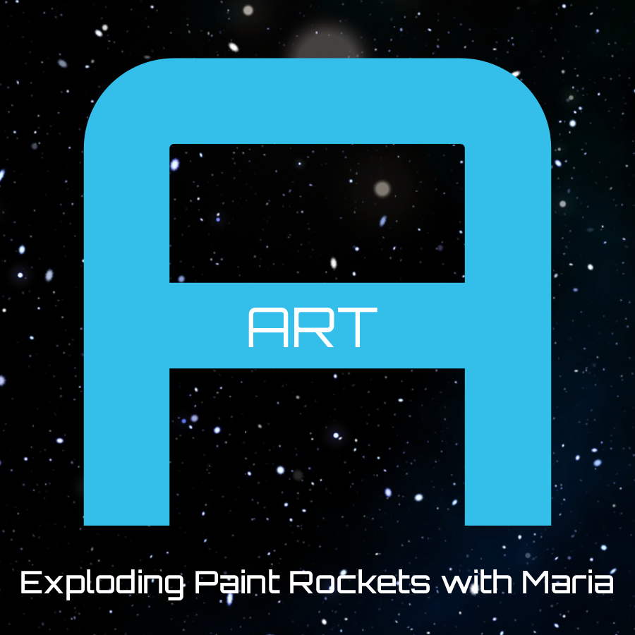 Exploding Paint Rockets with Maria